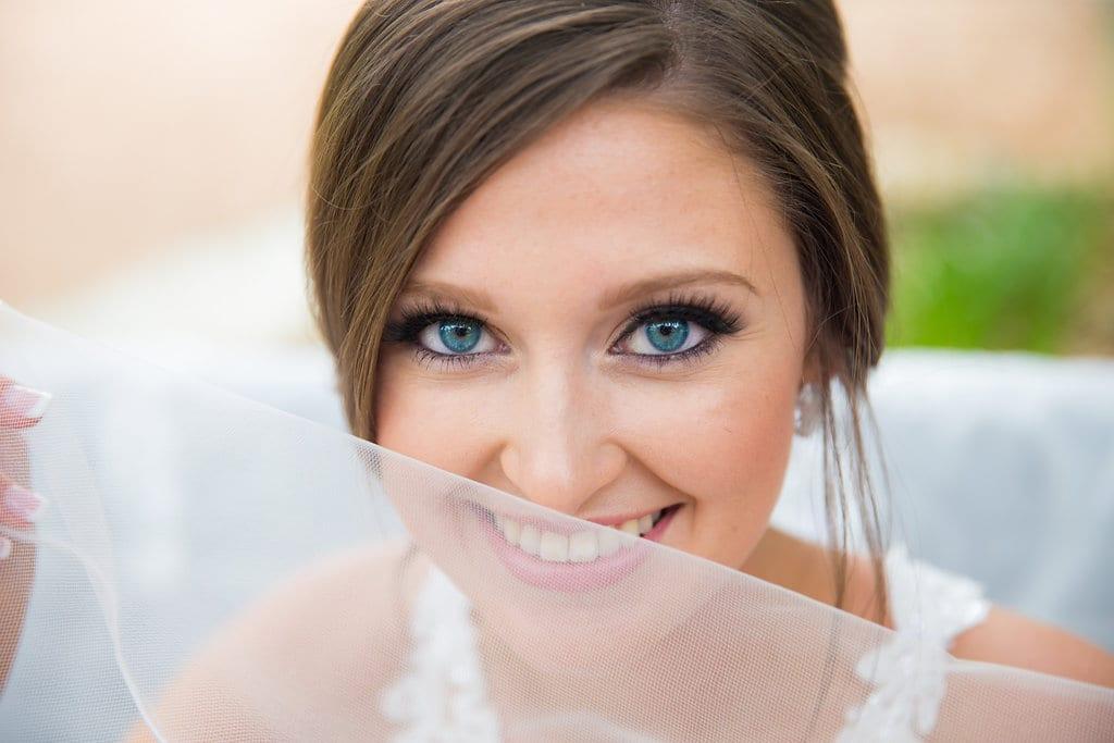Samantha's Bridal Hidden Falls veil