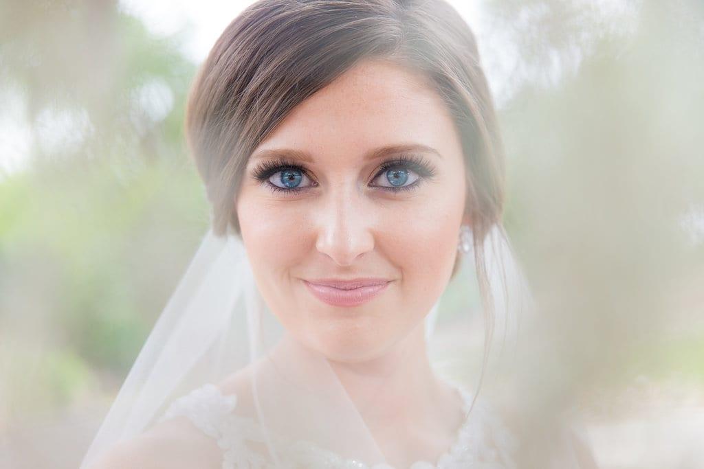 Samantha's Bridal Hidden Falls eyes in the moss