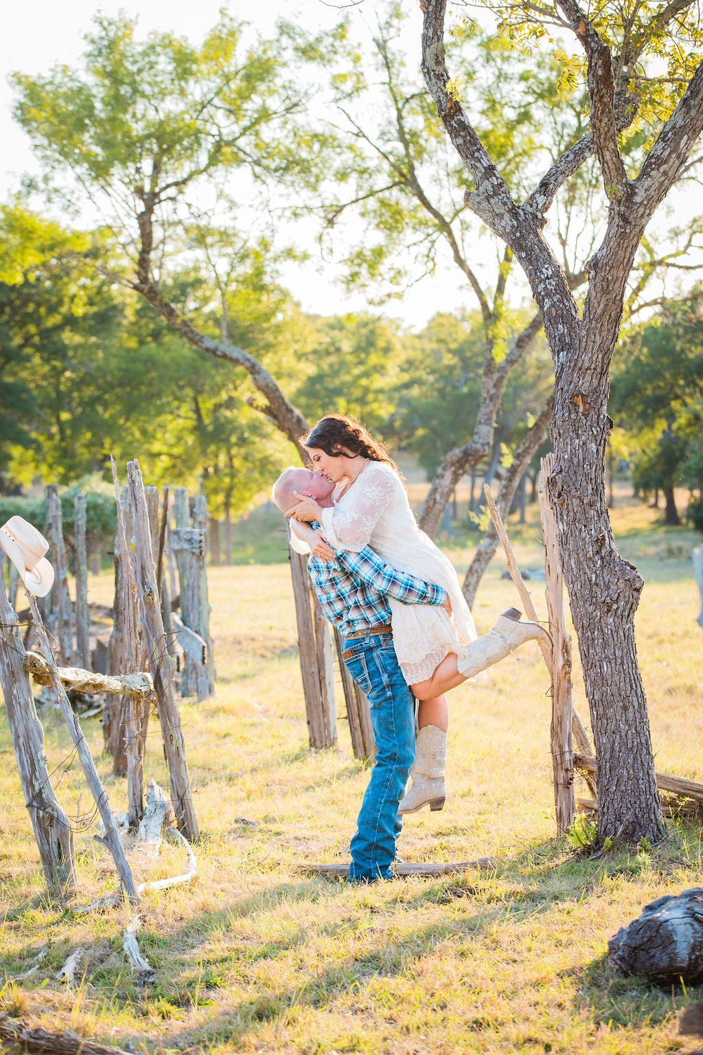 Tess -Lance Boerne, TX Engagement Portrait by the scale lift