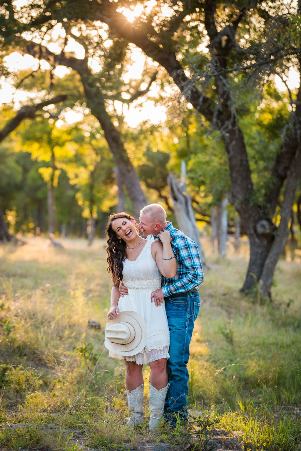 Tess -Lance Boerne, TX Engagement Portrait by spring laughing