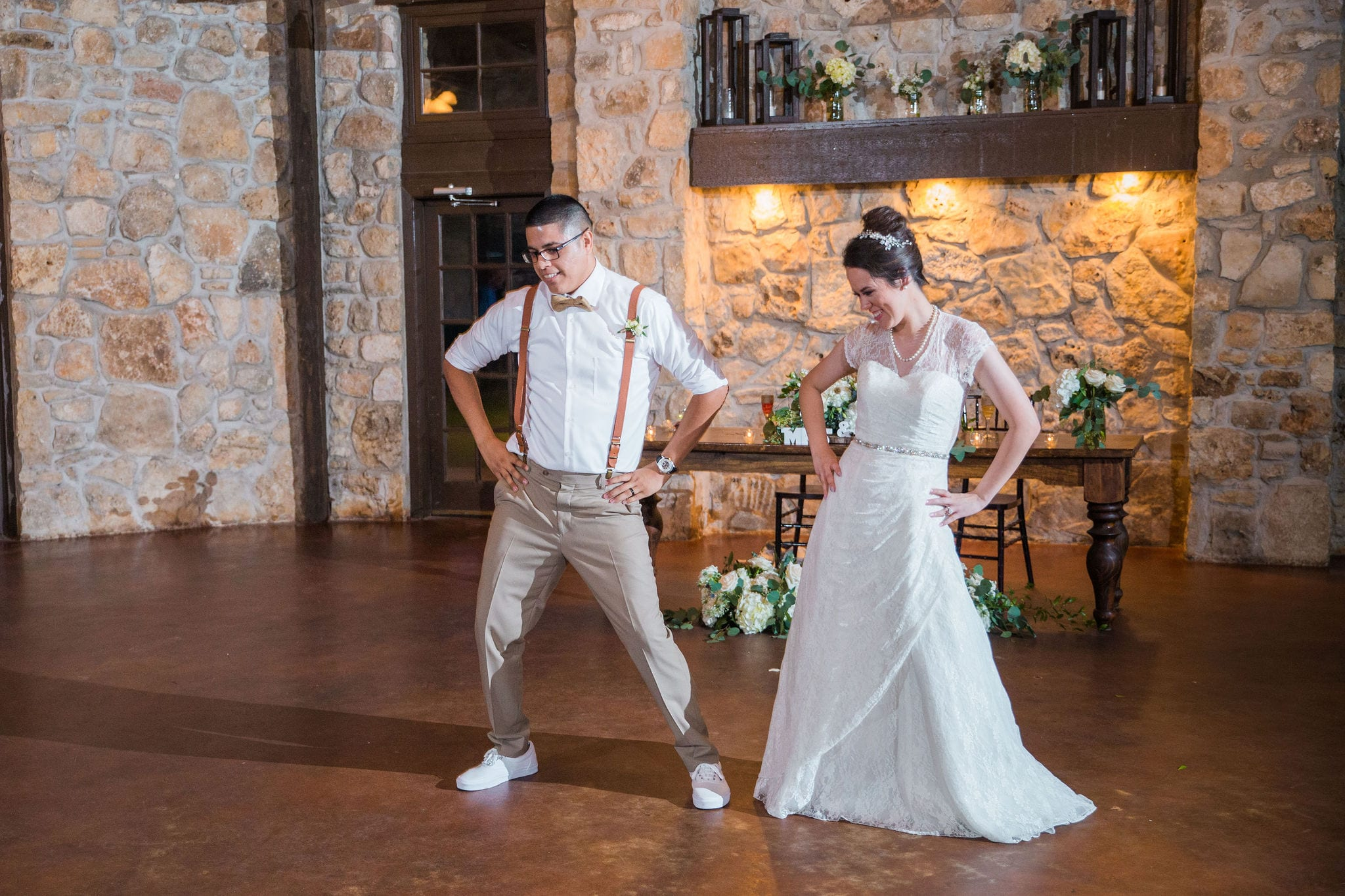 Aamber wedding Canyon Springs Golf Course first dance fun