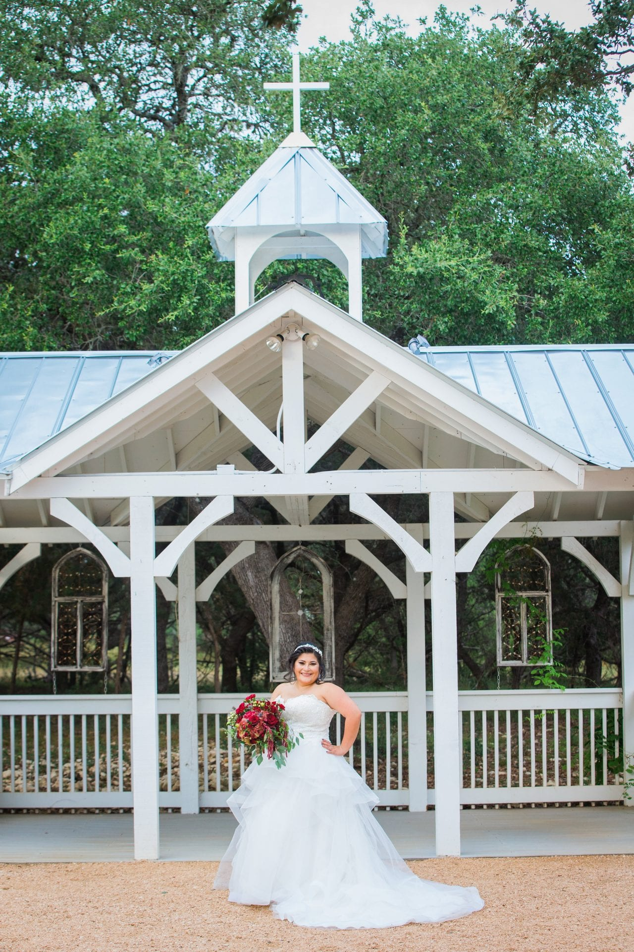 Laura's Bridals at Western Sky at the gazebo