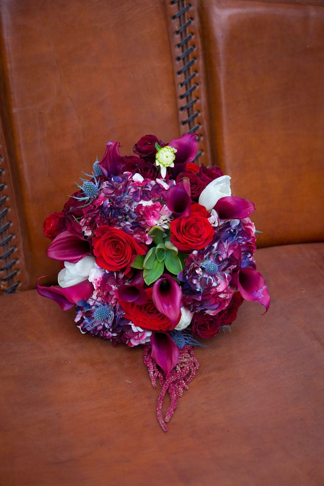 Laura wedding Western Sky bridal bouquet