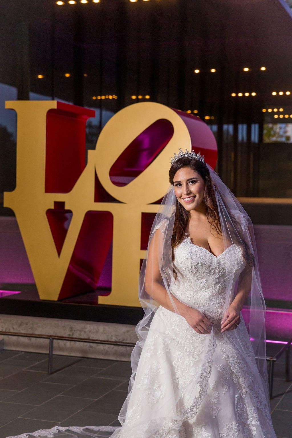 Mary Elizabeth's bridal at the McNay LOVE headshot
