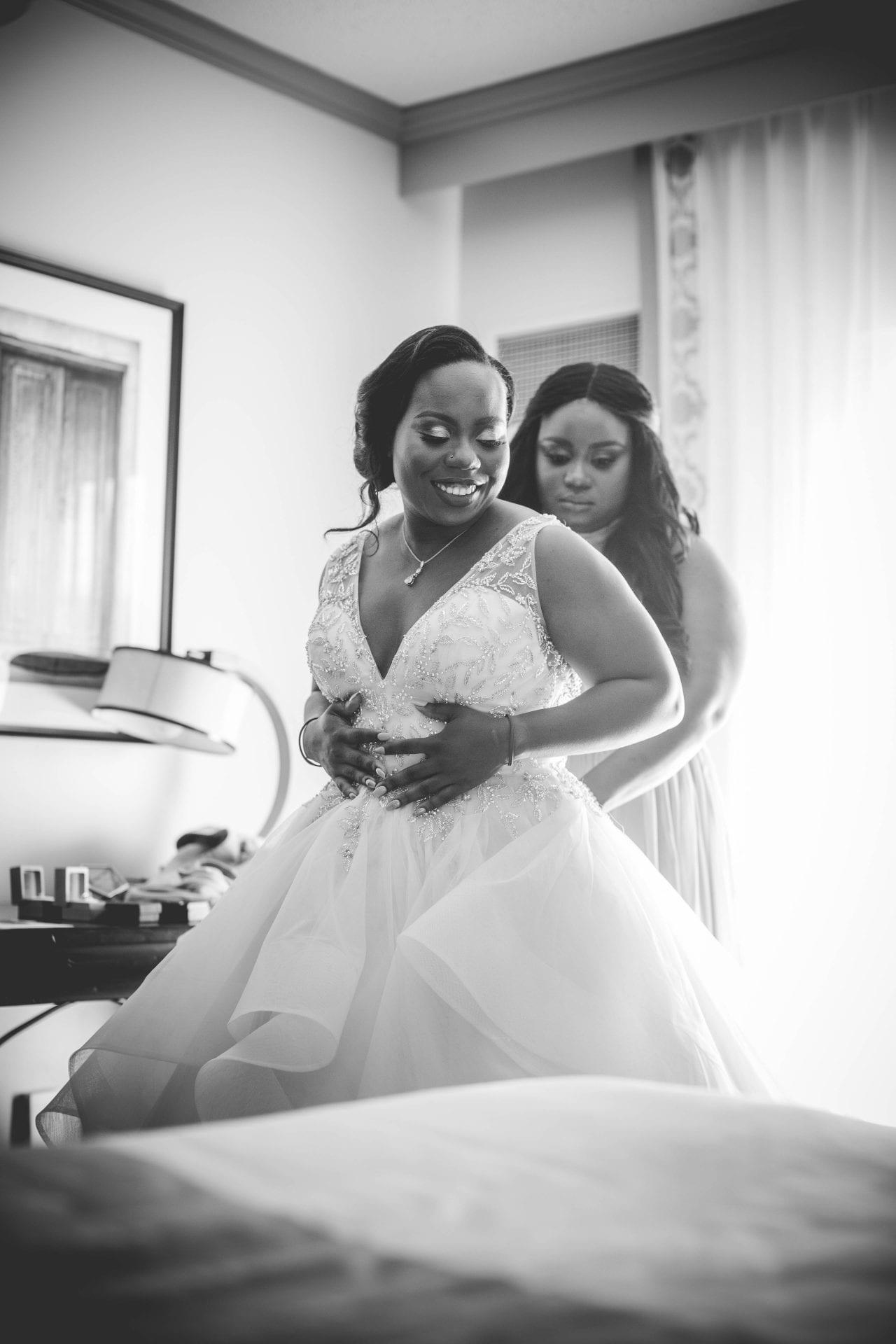 Onyema wedding La Cantera dressing