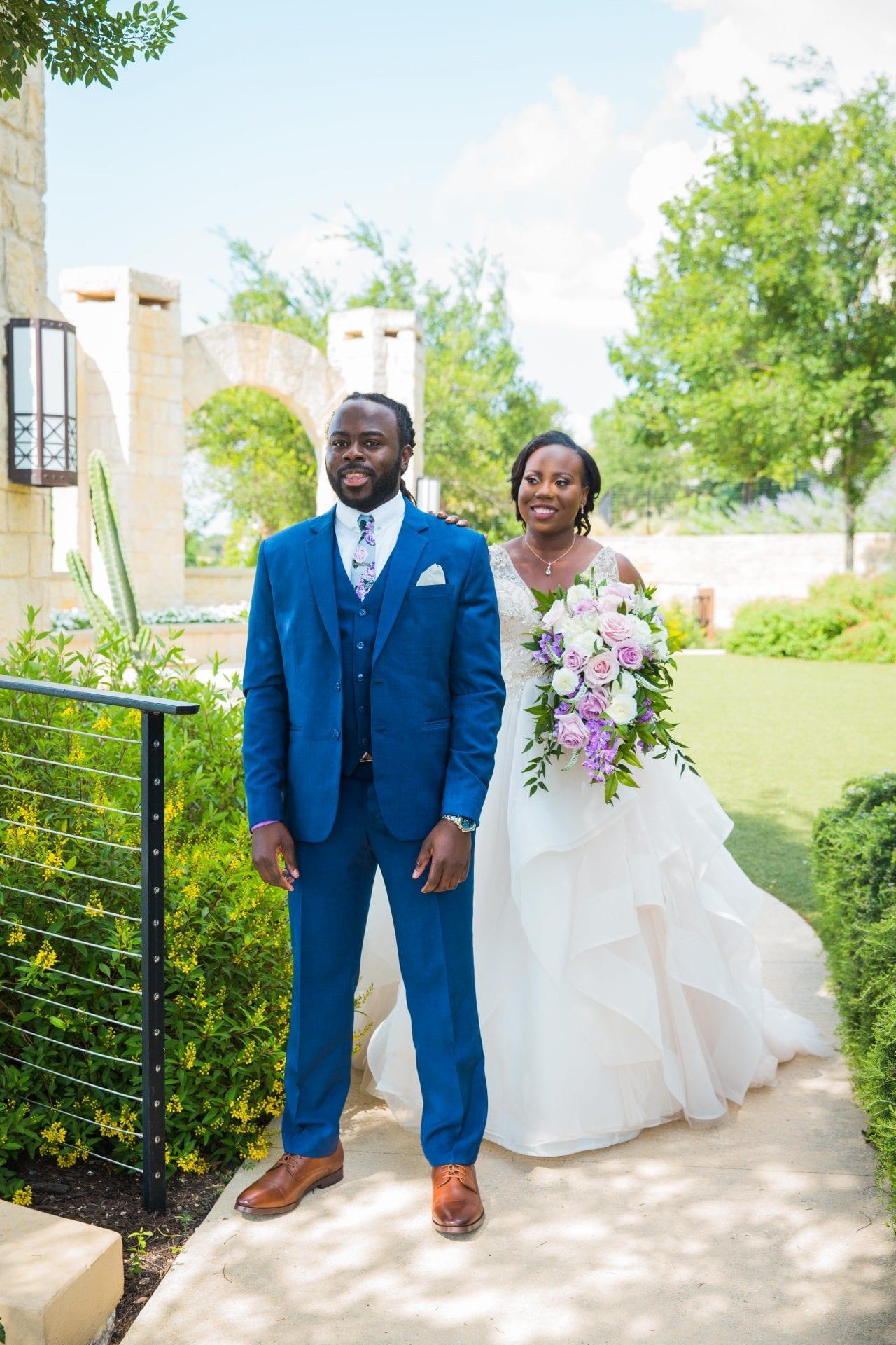 Onyema wedding La Cantera first look