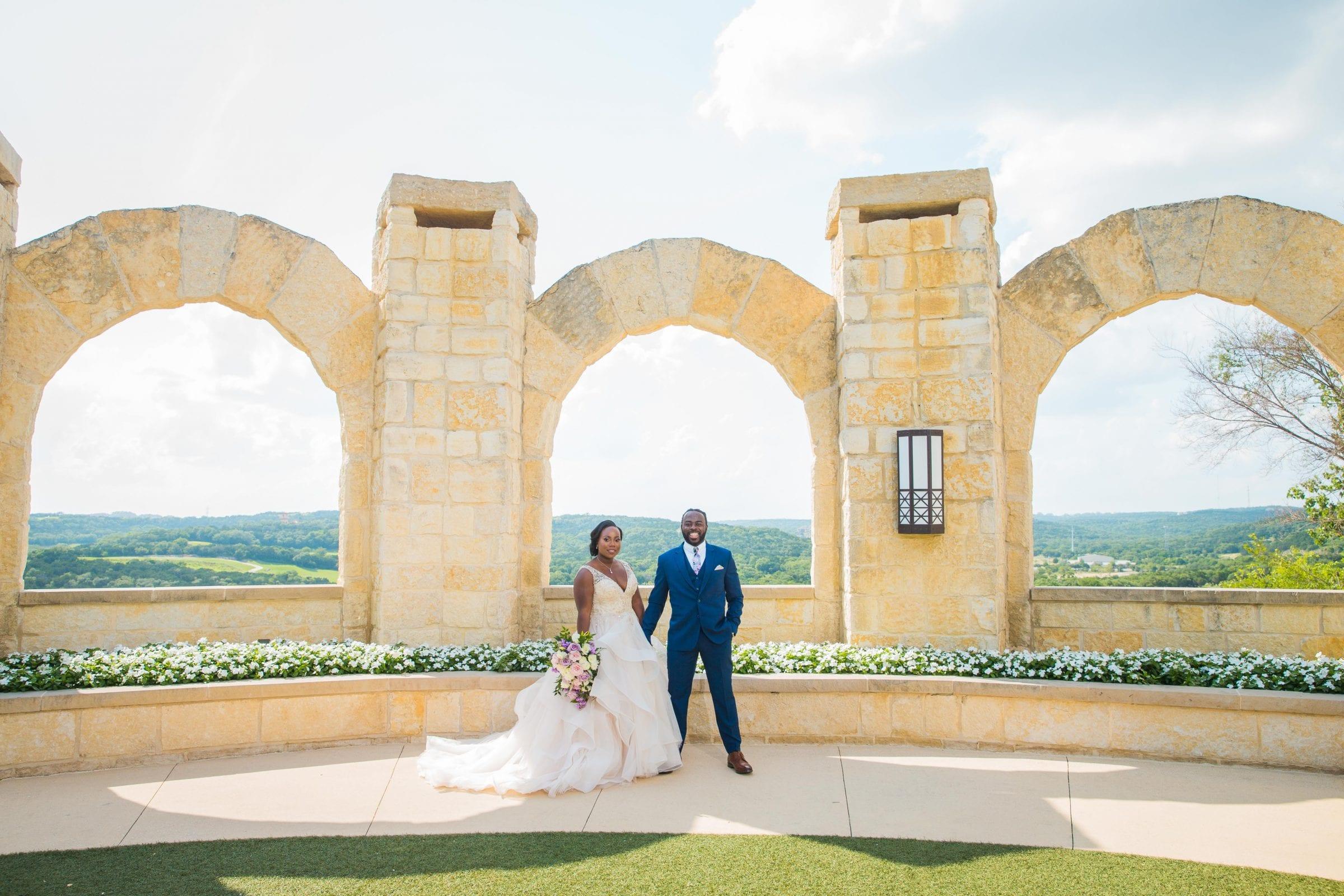 Onyema wedding La Cantera full arches