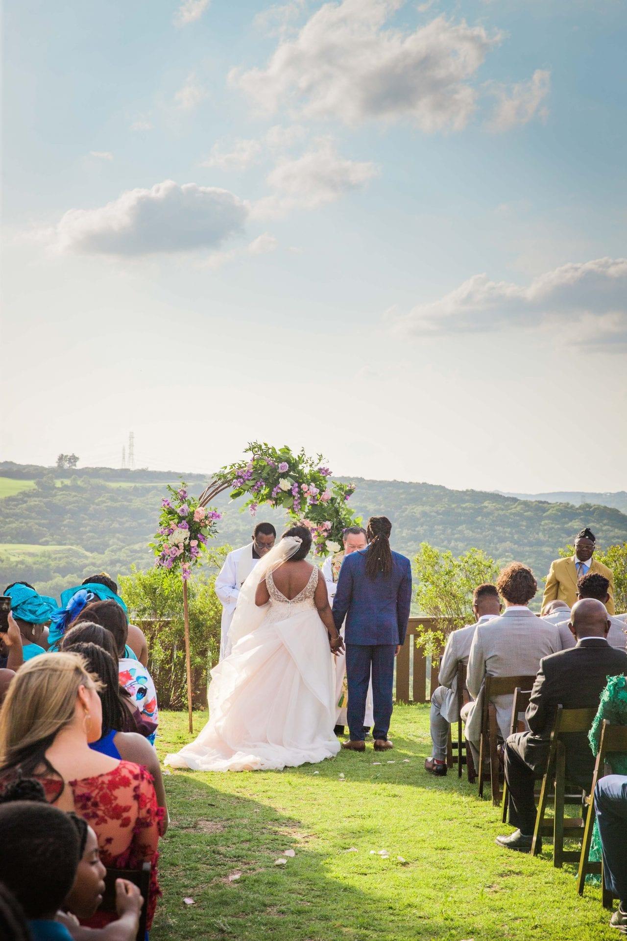 Onyema wedding La Cantera ceremony