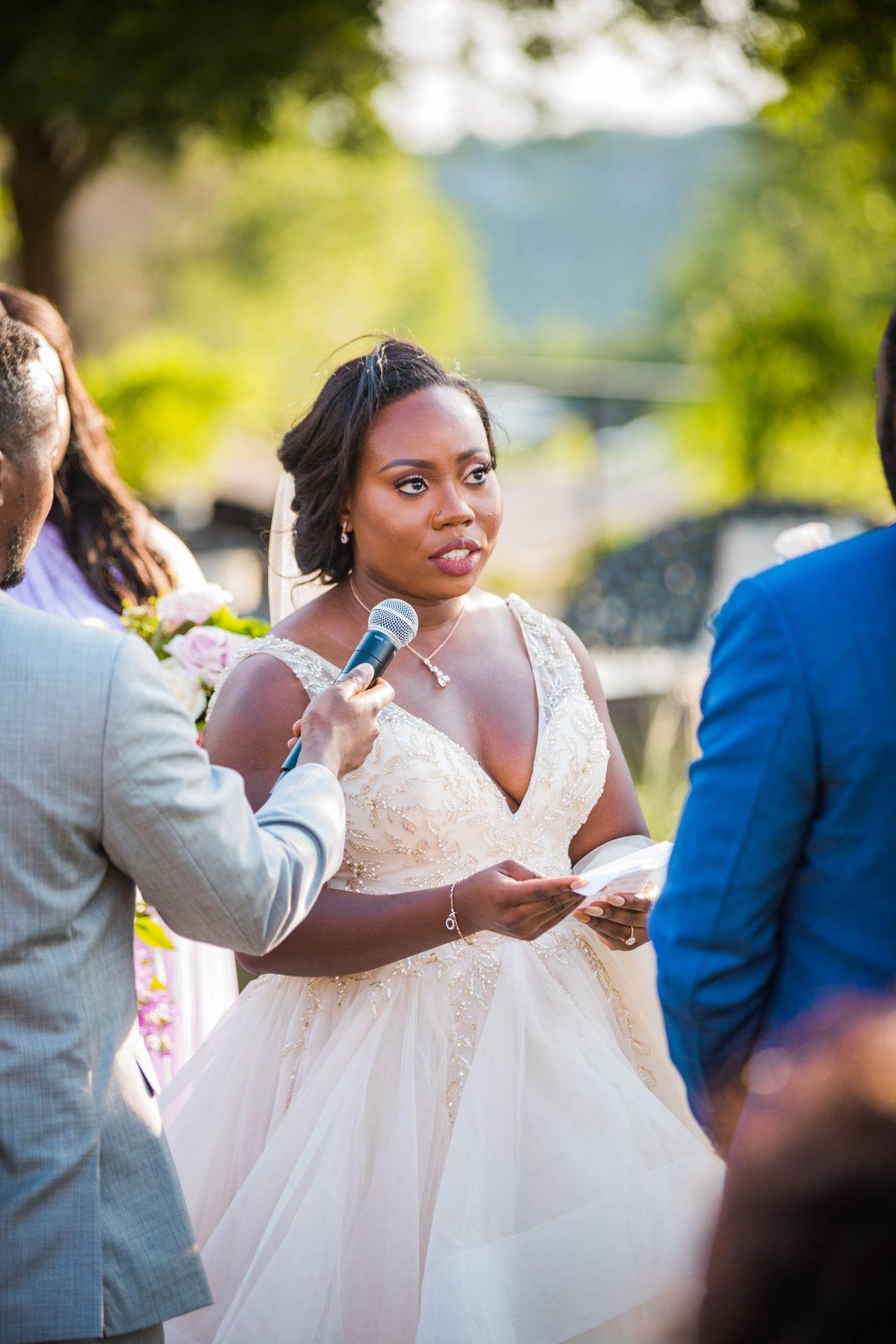 Onyema wedding La Cantera brides vows