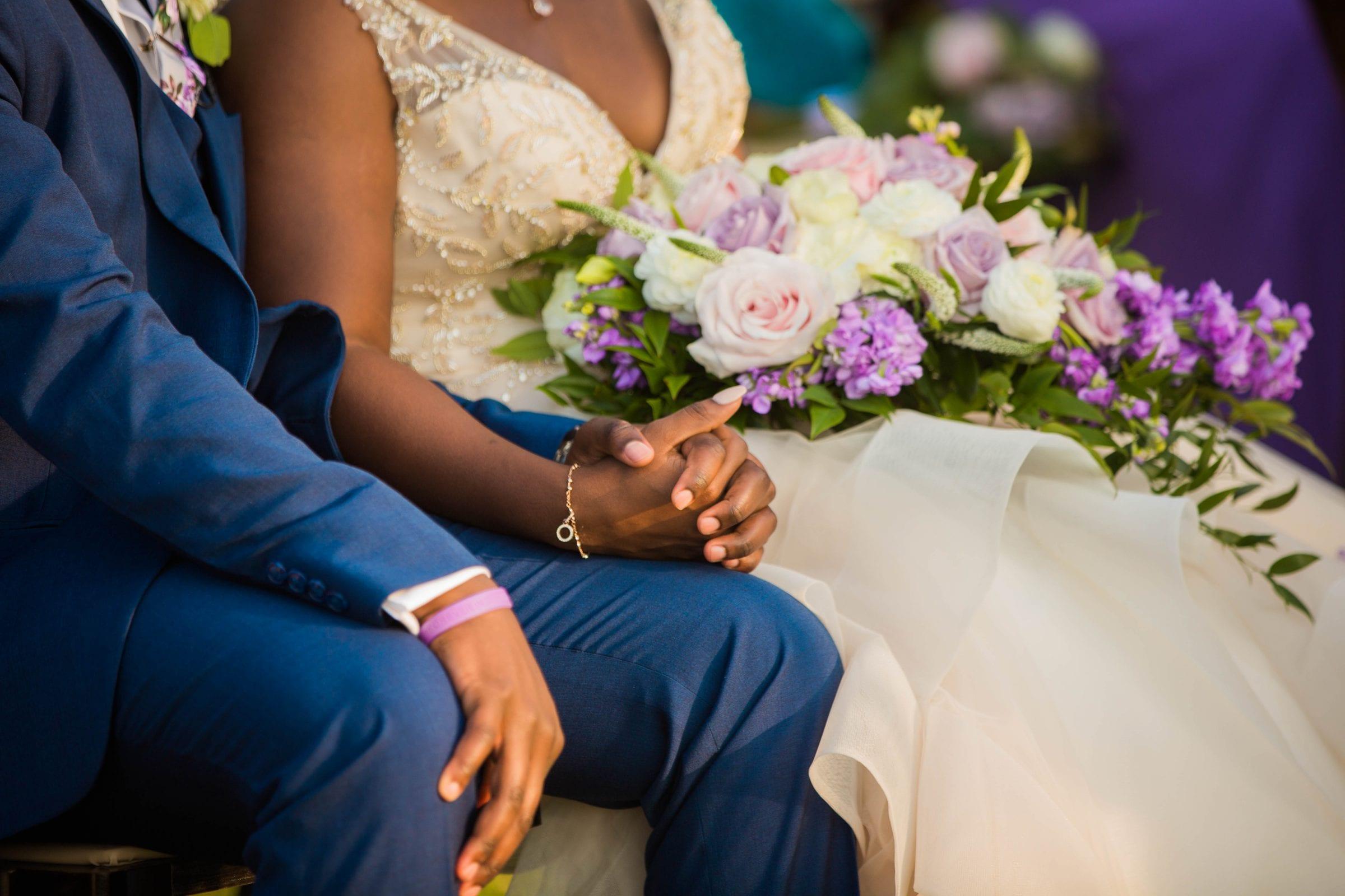 Onyema wedding La Cantera hands