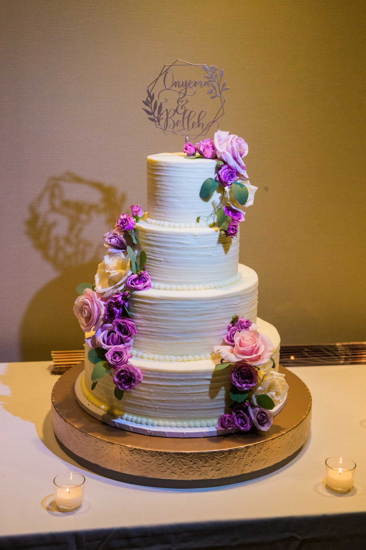 Onyema wedding La Cantera cake
