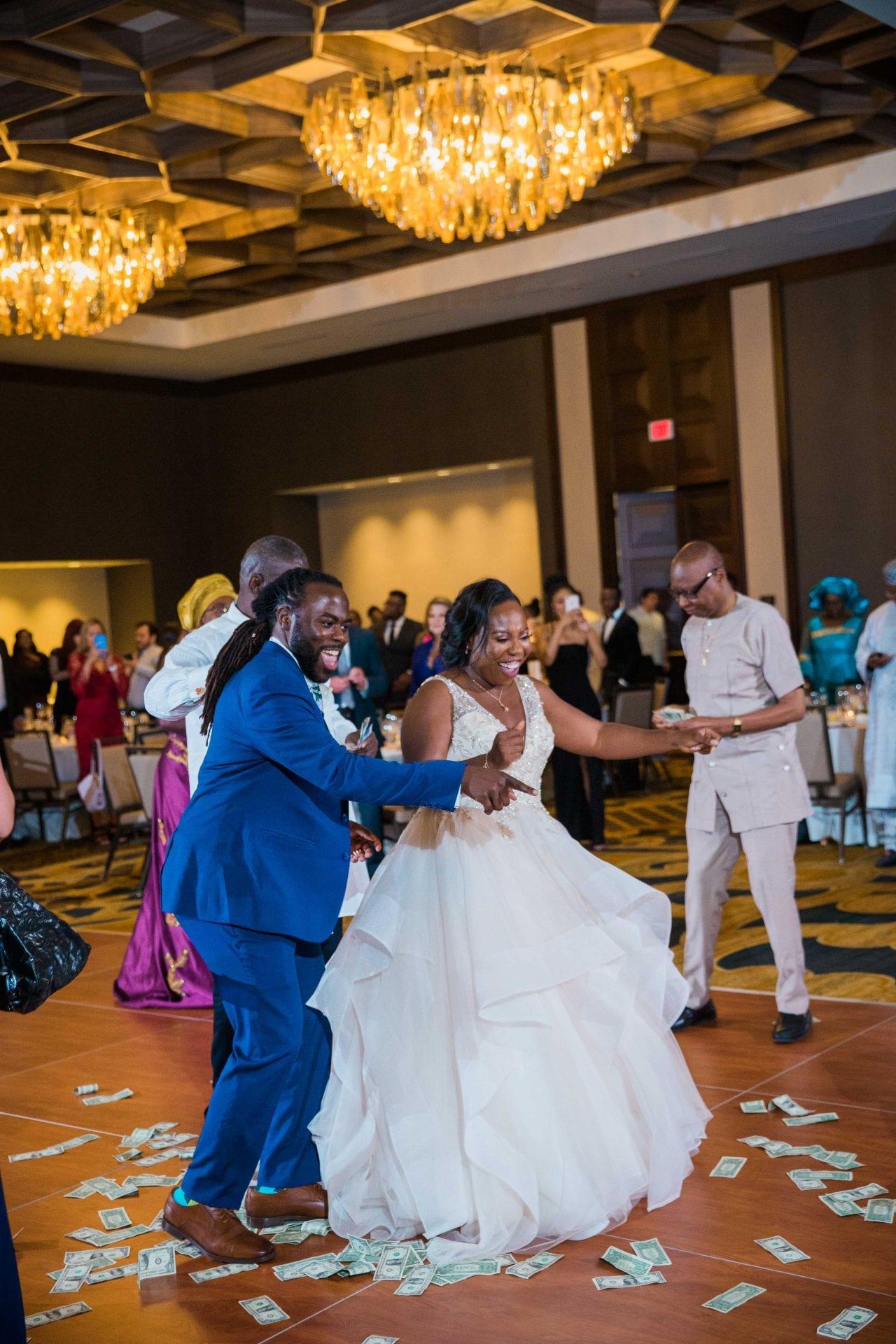 Onyema wedding La Cantera intro dancer