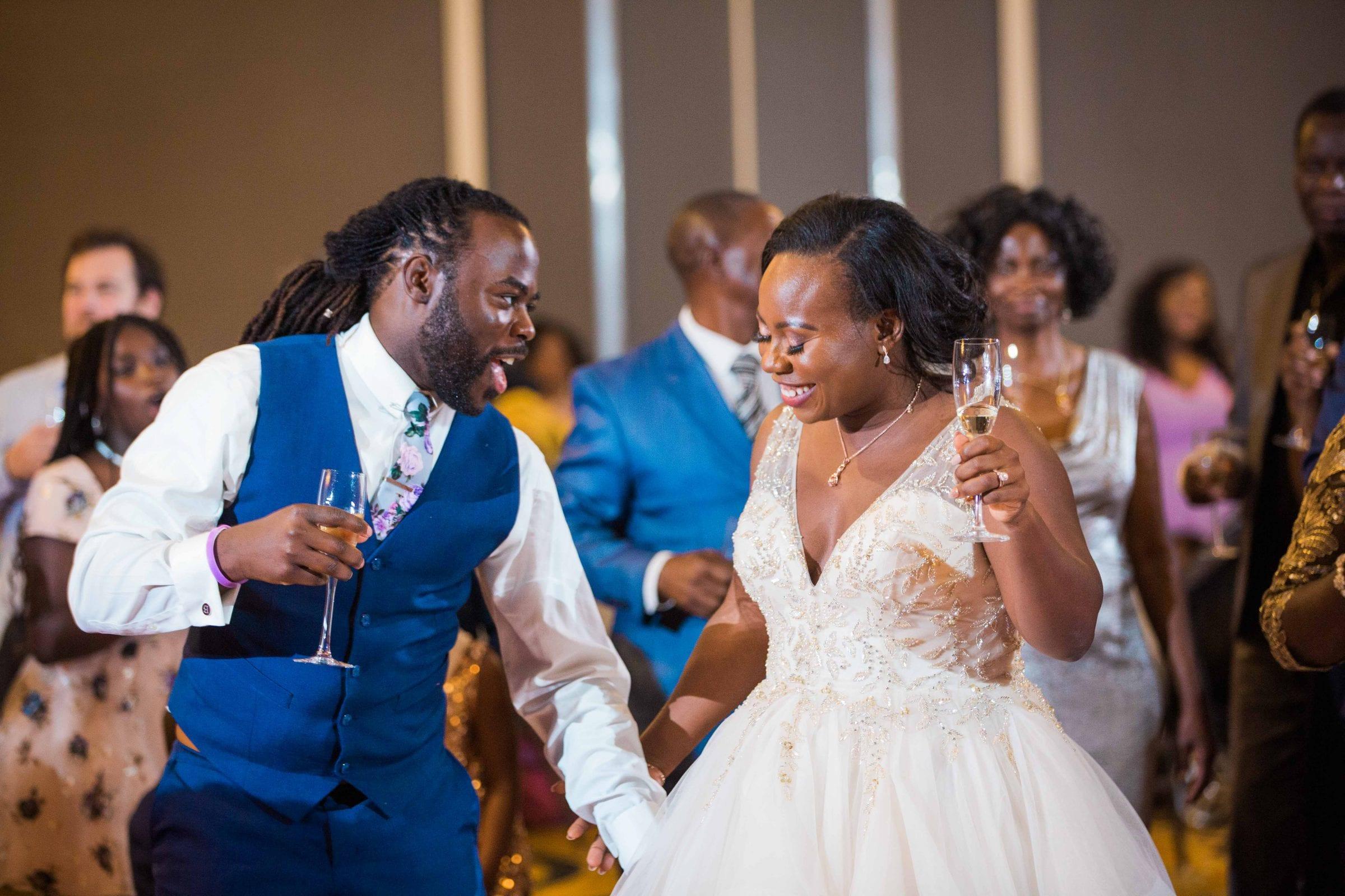 Onyema wedding La Cantera close up dance