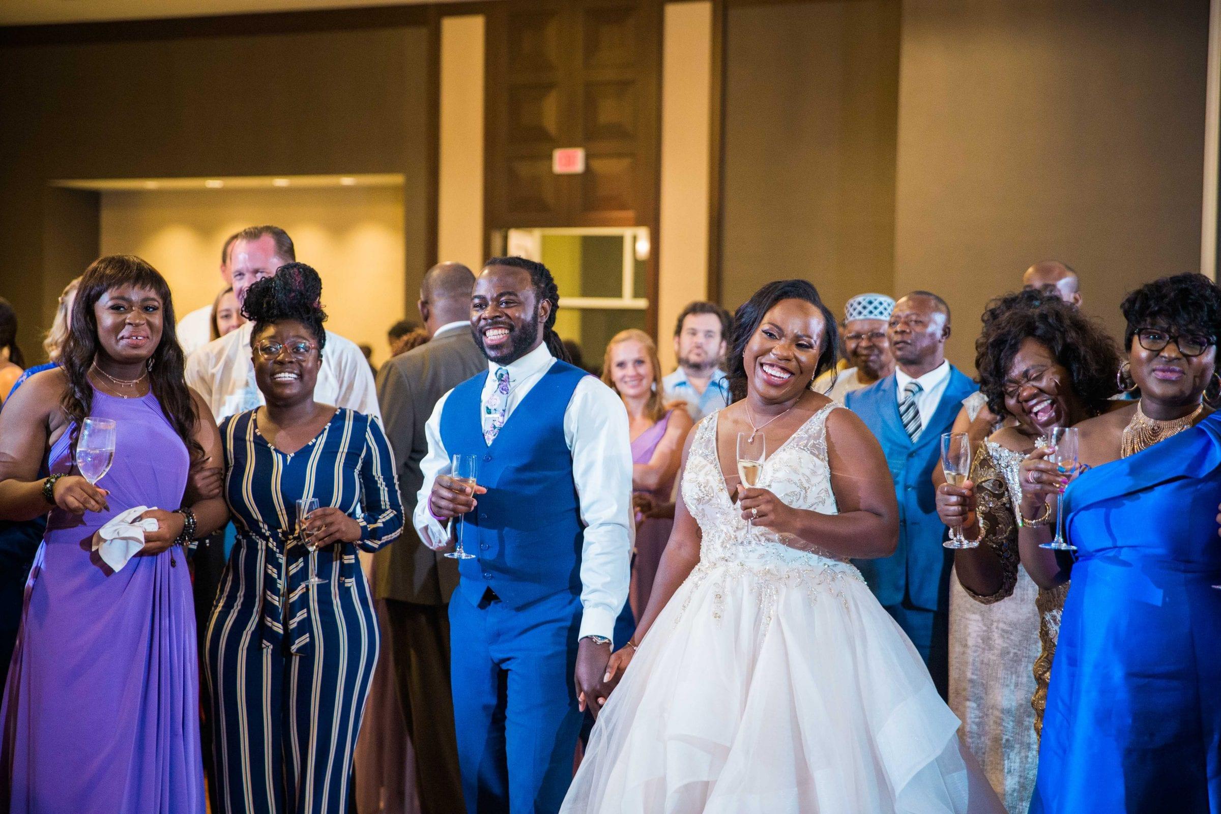 Onyema wedding La Cantera toasts