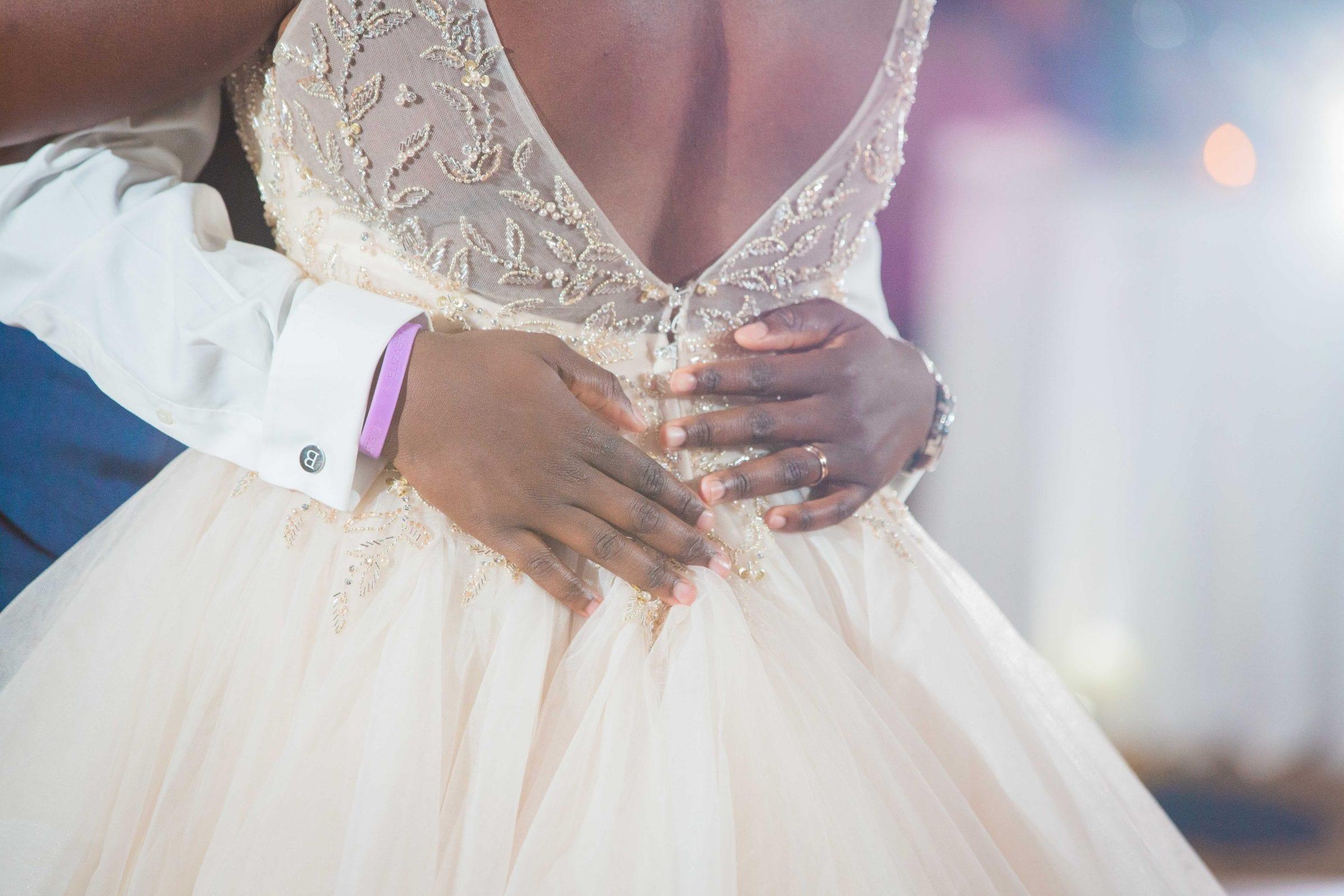 Onyema wedding La Cantera dancing her back