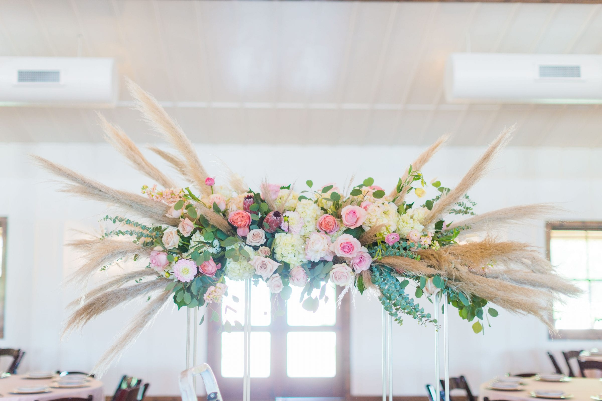 Western Sky Styled shoot centerpiece close