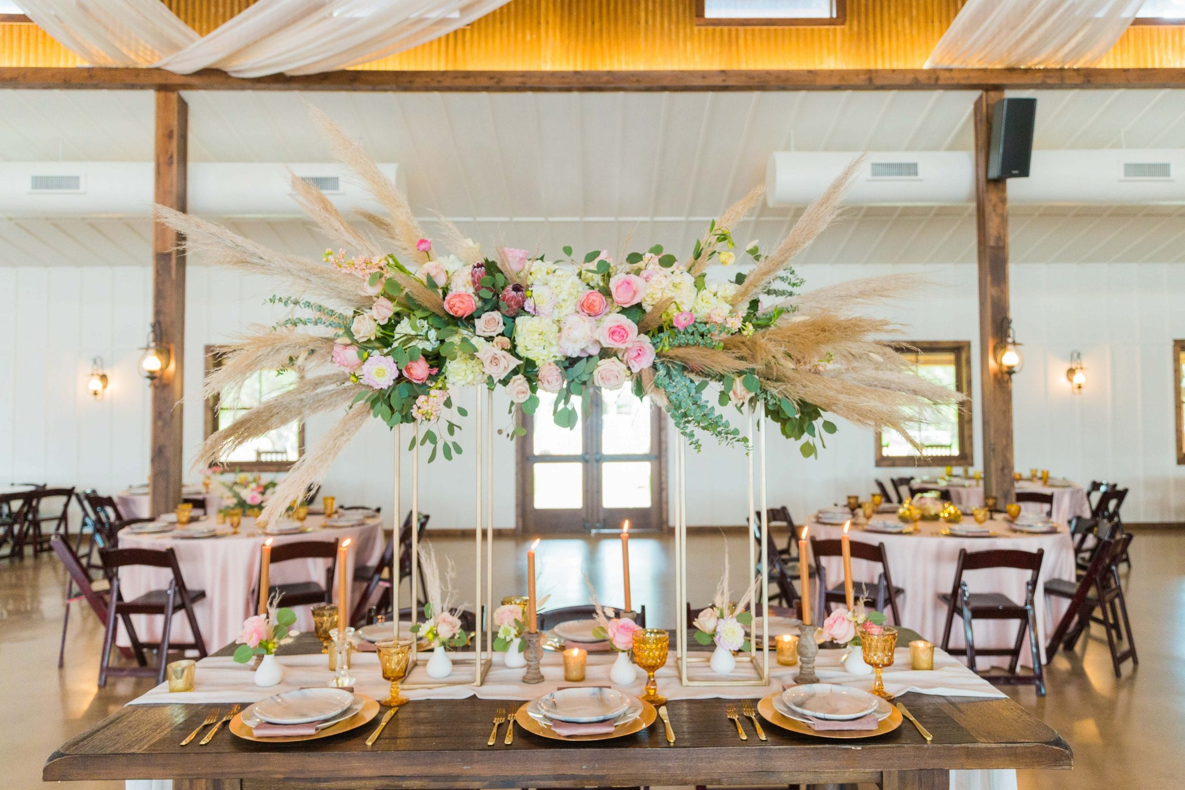 Western Sky Styled shoot table top