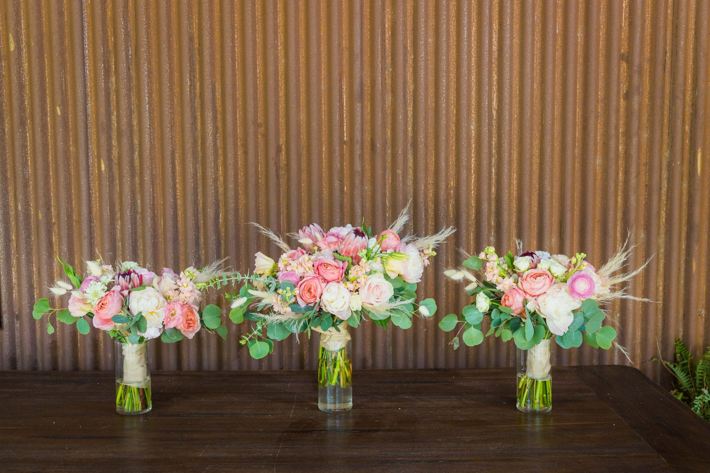 Western Sky Styled shoot all bouquets