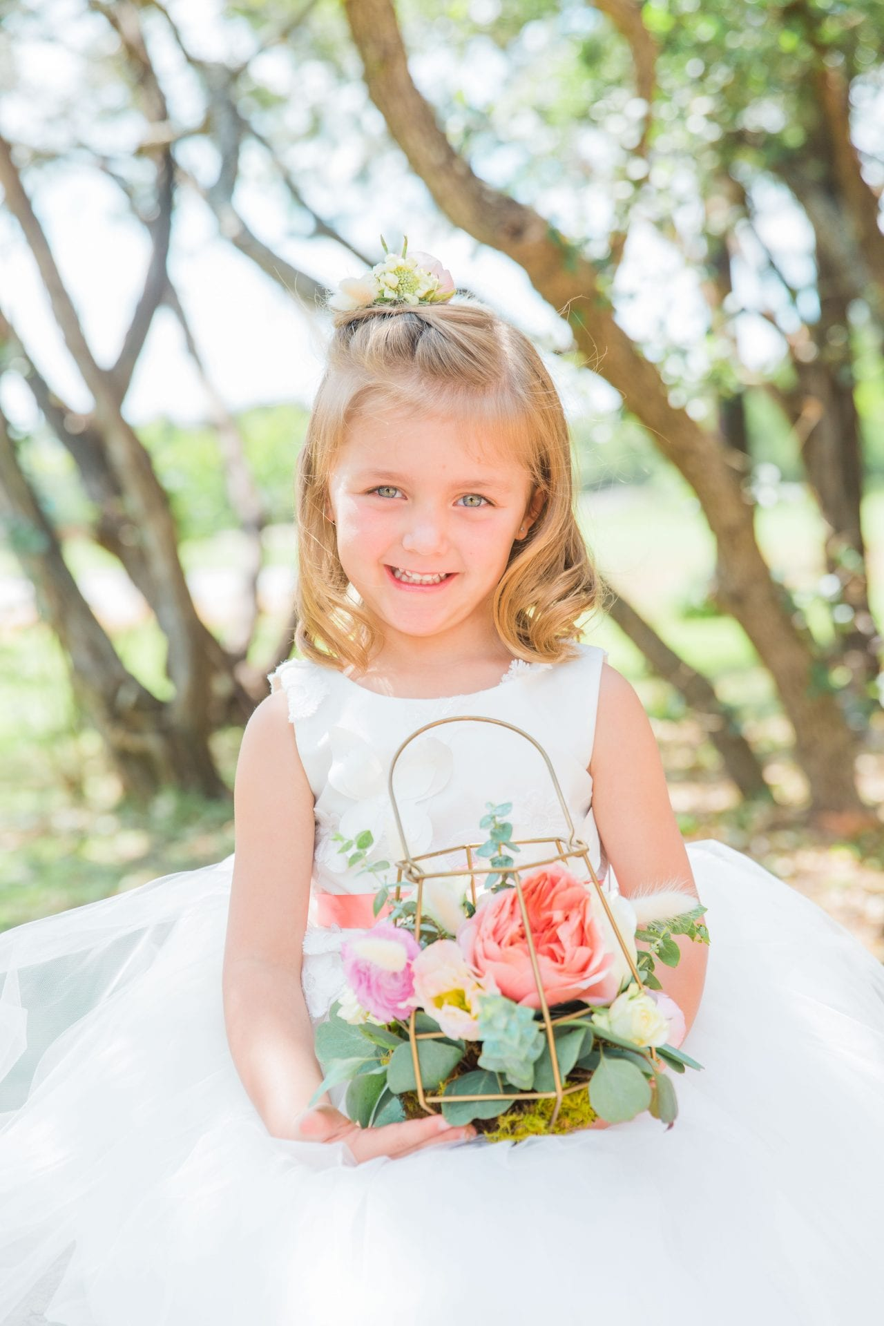 Western Sky Styled shoot flower girl