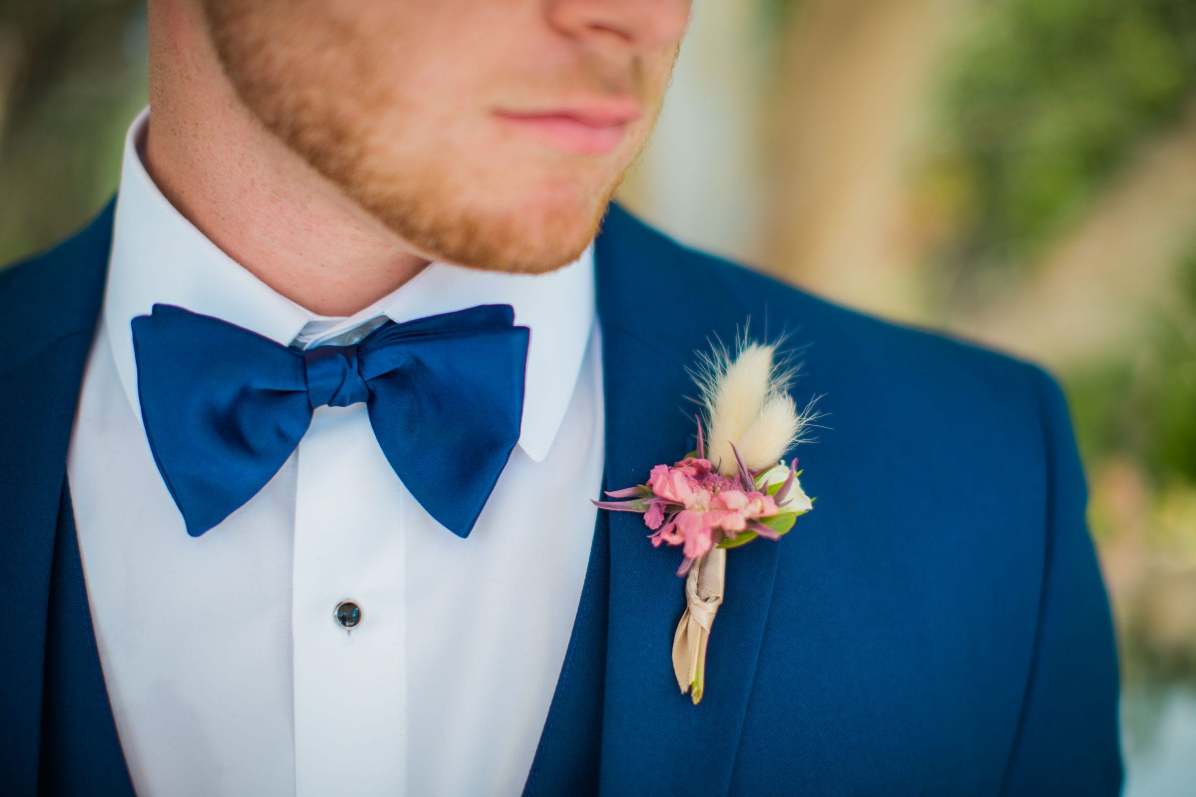 Western Sky Styled shoot boutonniere