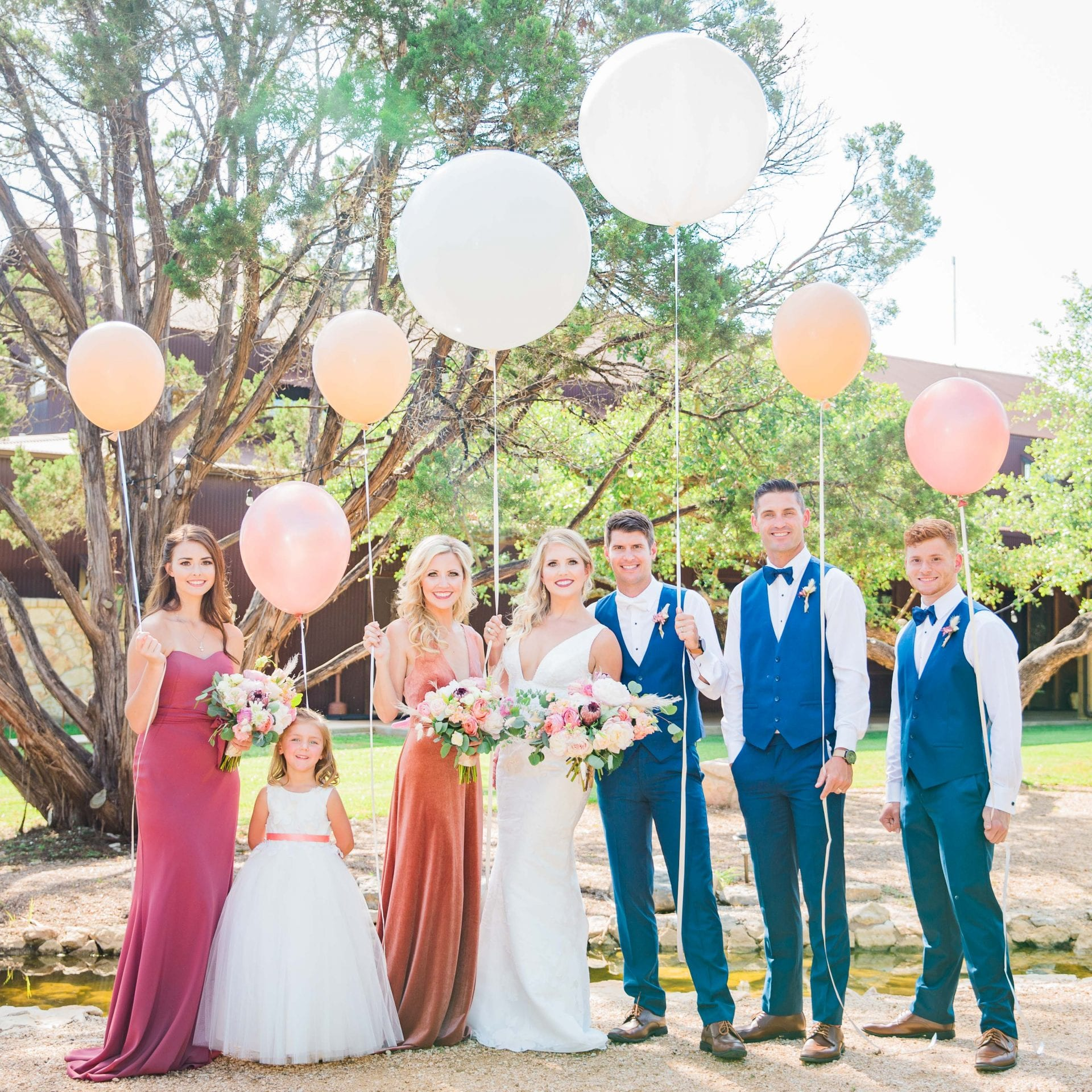 Western Sky Styled shoot party with balloons