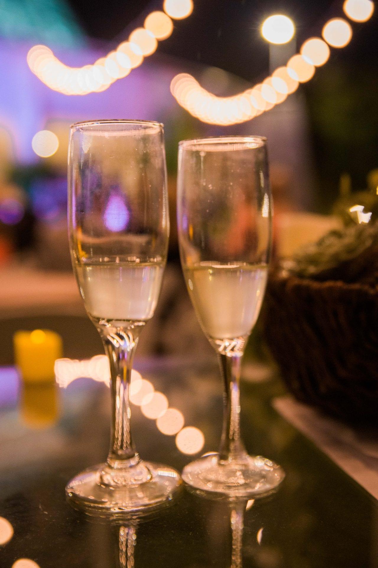 Courtney Amaya wedding San Antonio Botanical Garden champagne