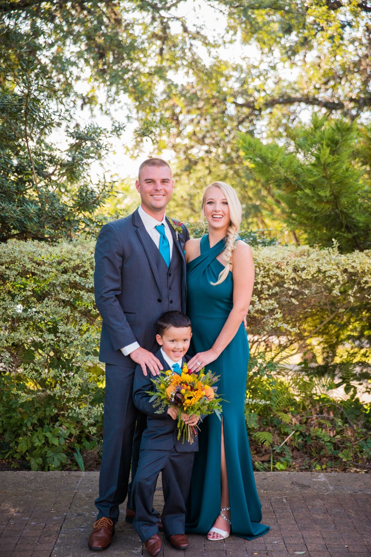 Fall styled shoot at the McNay art museum family