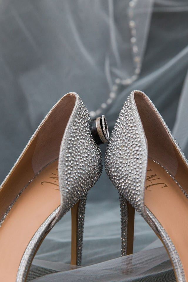 Ashley and Andy wedding Lambermont details shoes and rings