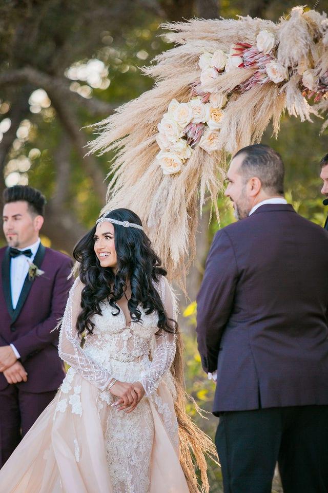 Erica and Mark's wedding at Park 31 wedding ceremony