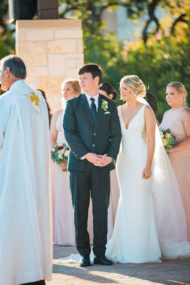Michele's wedding at La Cantera ceremony sermon