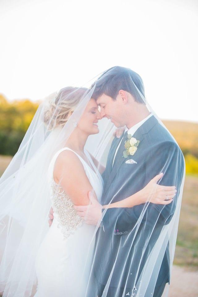 Michele's wedding at La Cantera wedding bride under the veil