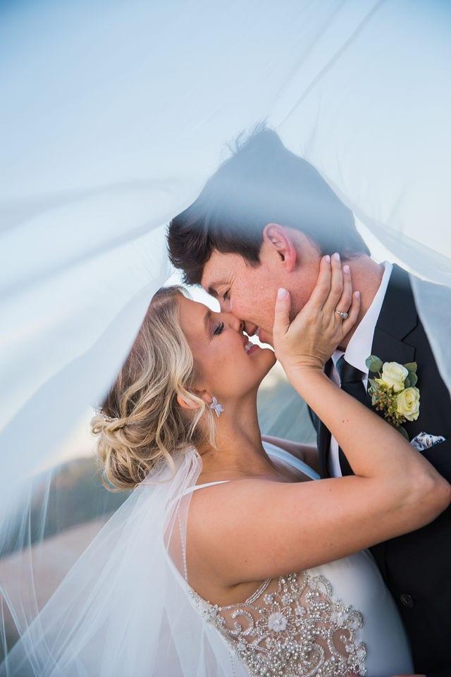 Michele wedding at La Cantera under veil