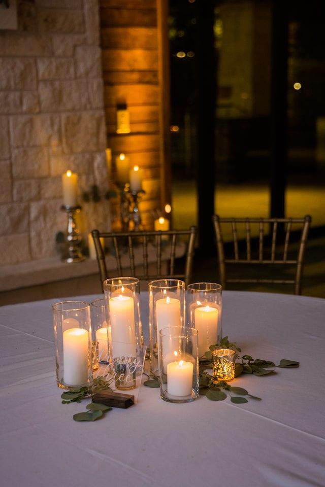 Michele's wedding at La Cantera wedding decor by Oakleaf Florist
