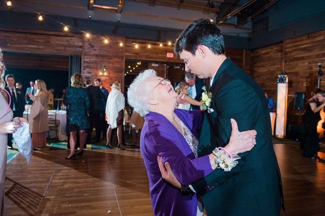 Michele's wedding at La Cantera wedding reception grandmas dance