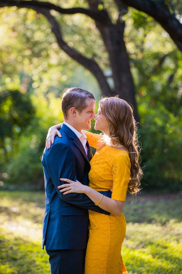 olivia's engagement landa library kiss in the trees